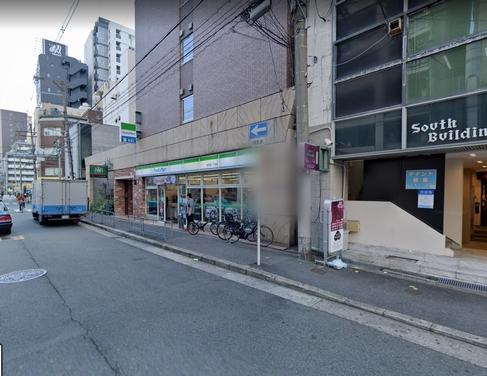 ファミリーマート前(曽根崎一丁目店)